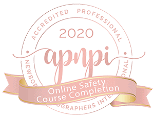 Austin Newborn Photography Newborn Photography Training  APNPI Newborn Safety Certified Badge