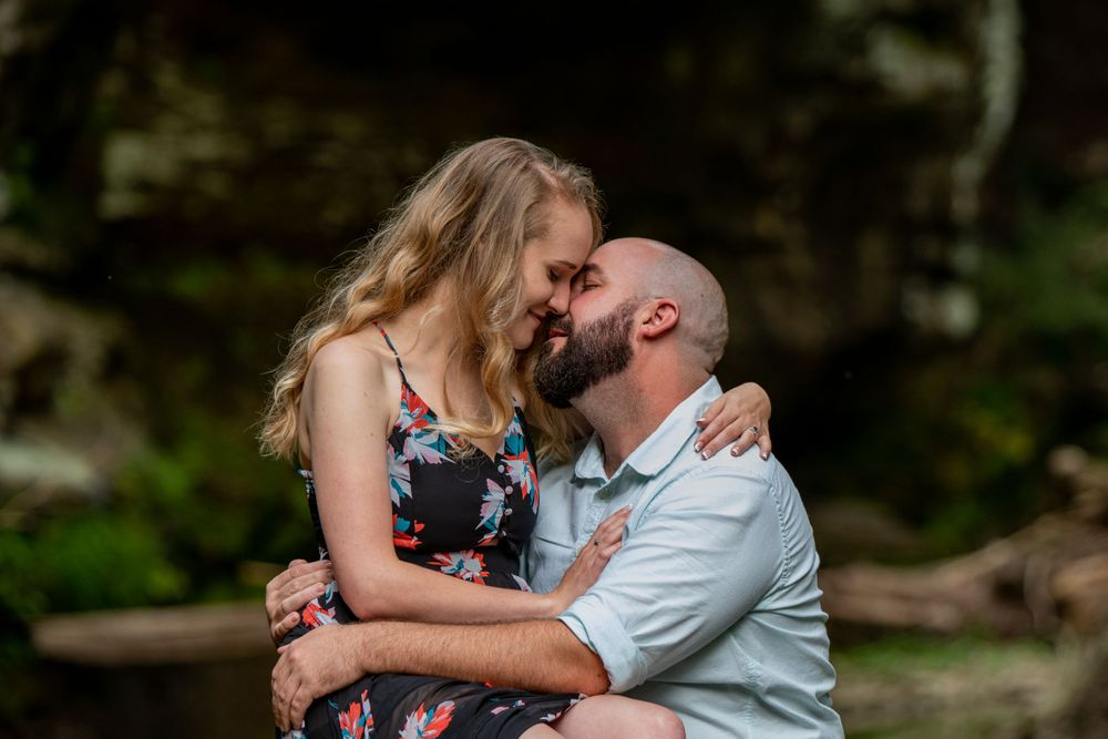 Ashville Canal Winchester Ohio Engagement Photographer