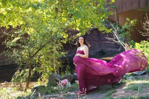 Maternity photography session baby bump photos