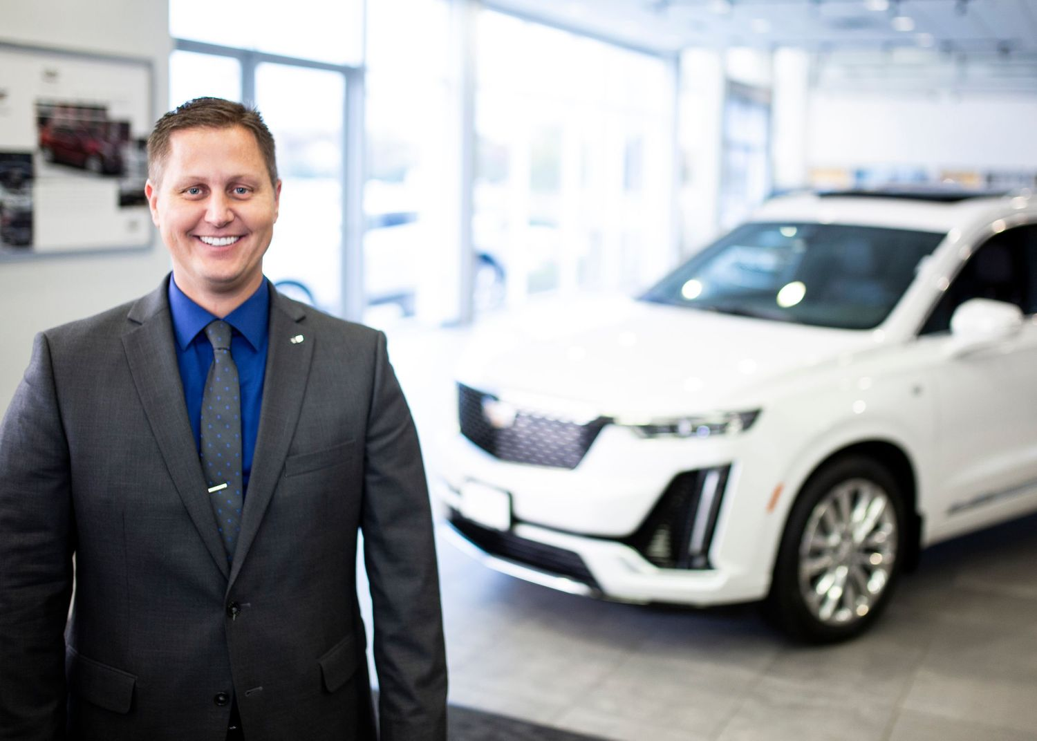 Brand photography, headshots; GM Perry, Cadillac Roseville, MN