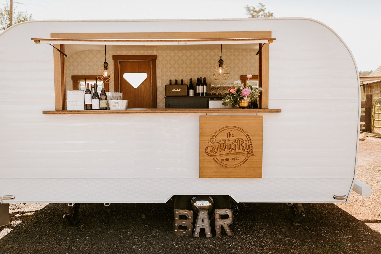 Mobile Beverage Bar Cart, Weddings, Events, Parties, Oregon