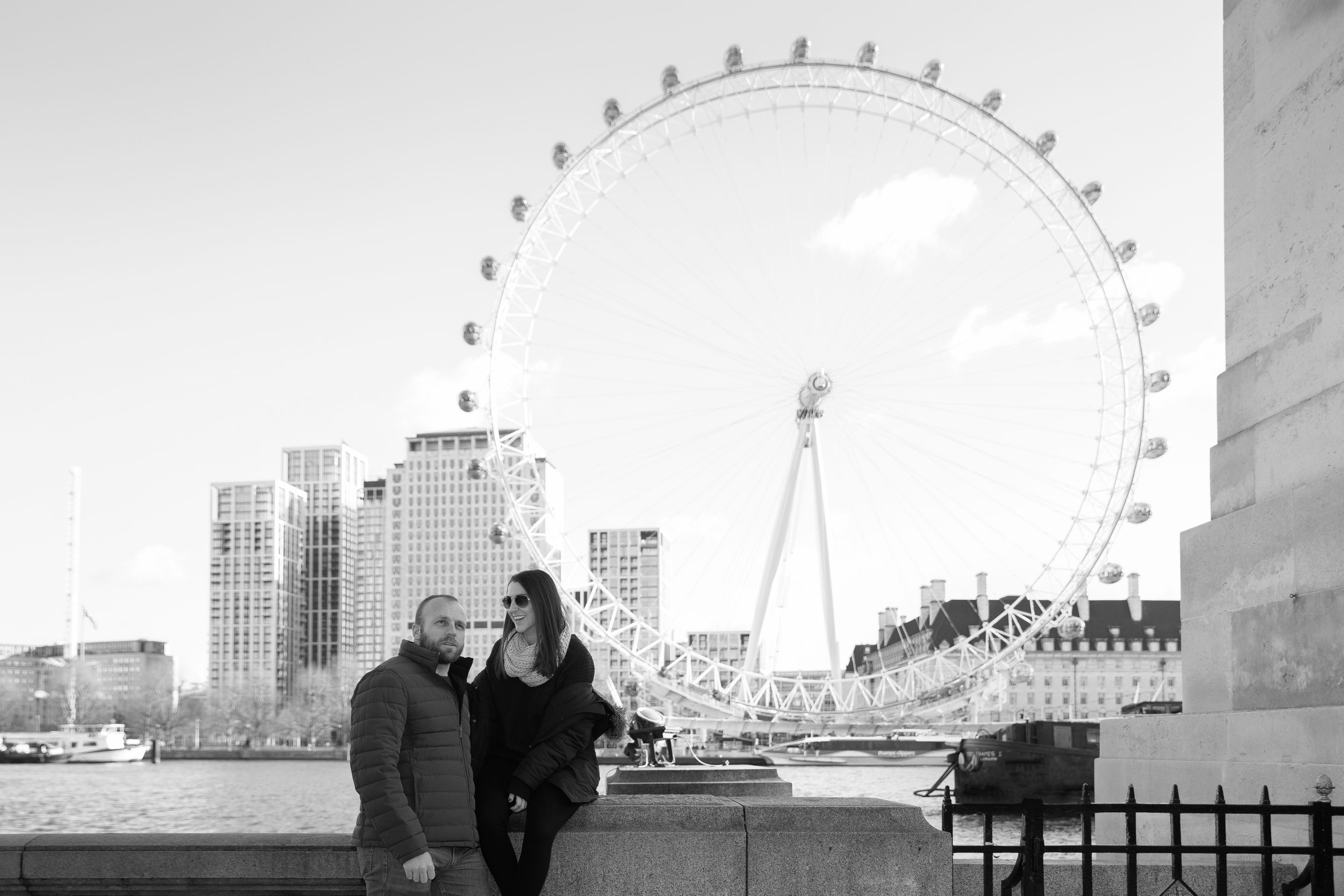 London Eye Engagement Photos