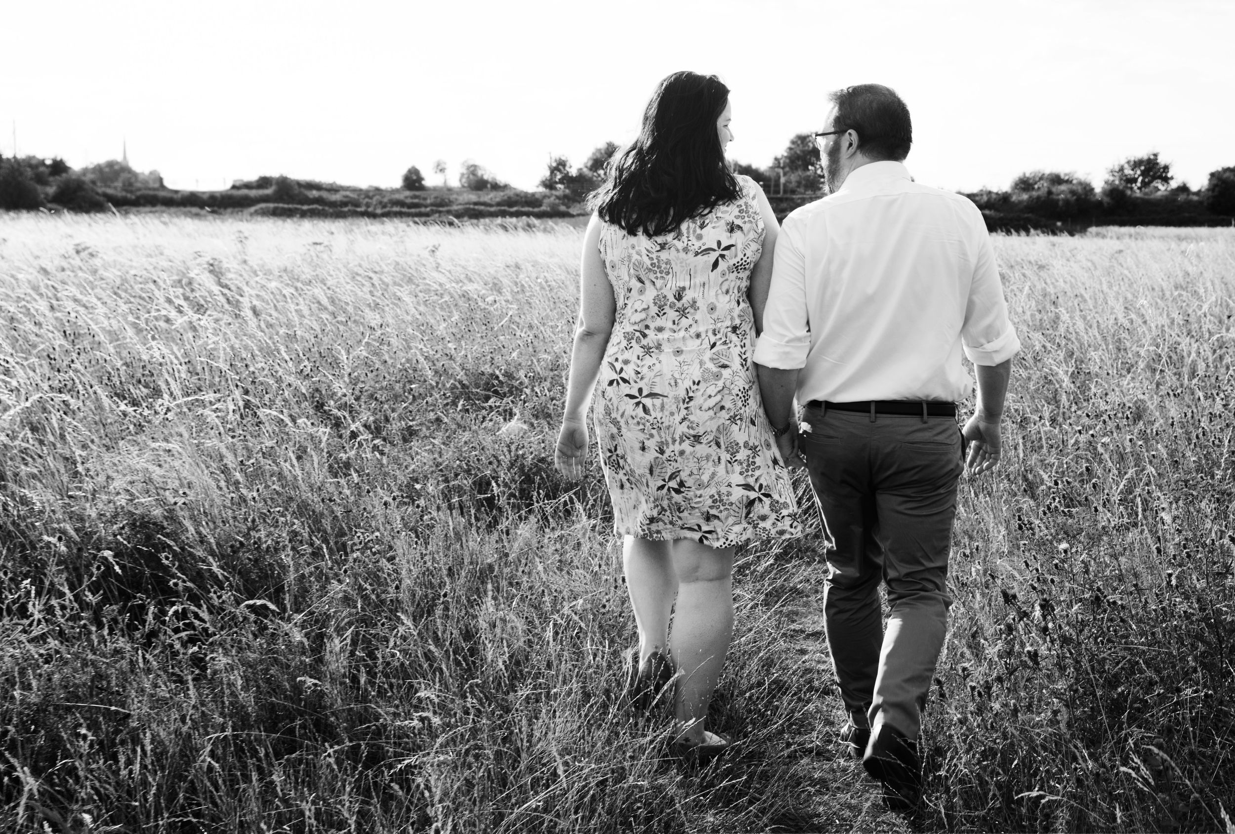 Engagement photos Walthamstow Marshes