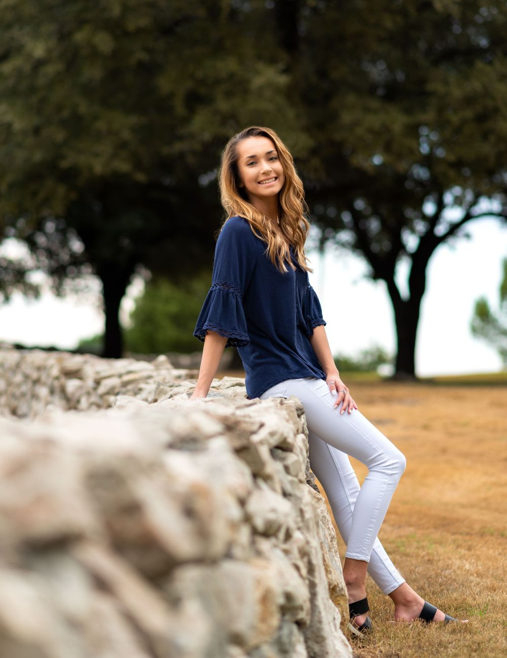 Rockwall, Texas Senior session at Adriatica by Alicia Wilson