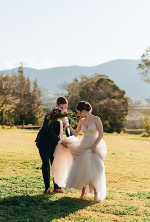 Hunter Valley Voco Kirkton Wedding winery photos