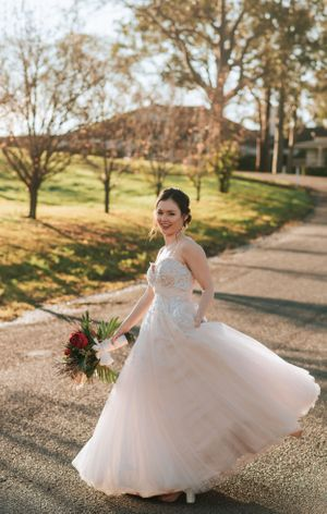 Hunter Valley Voco Kirkton Wedding bride dress