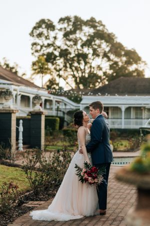 Hunter Valley Voco Kirkton Wedding bride and groom