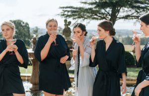 Hunter Valley Voco Kirkton Wedding bridesmaids toast