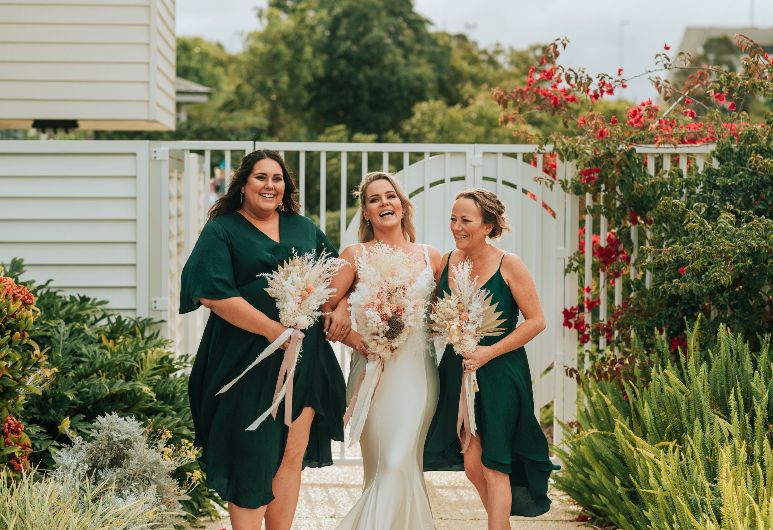 Port Macquarie Sails Wedding bridesmaids