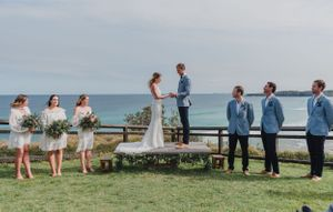 Seal Rocks Lighthouse Wedding