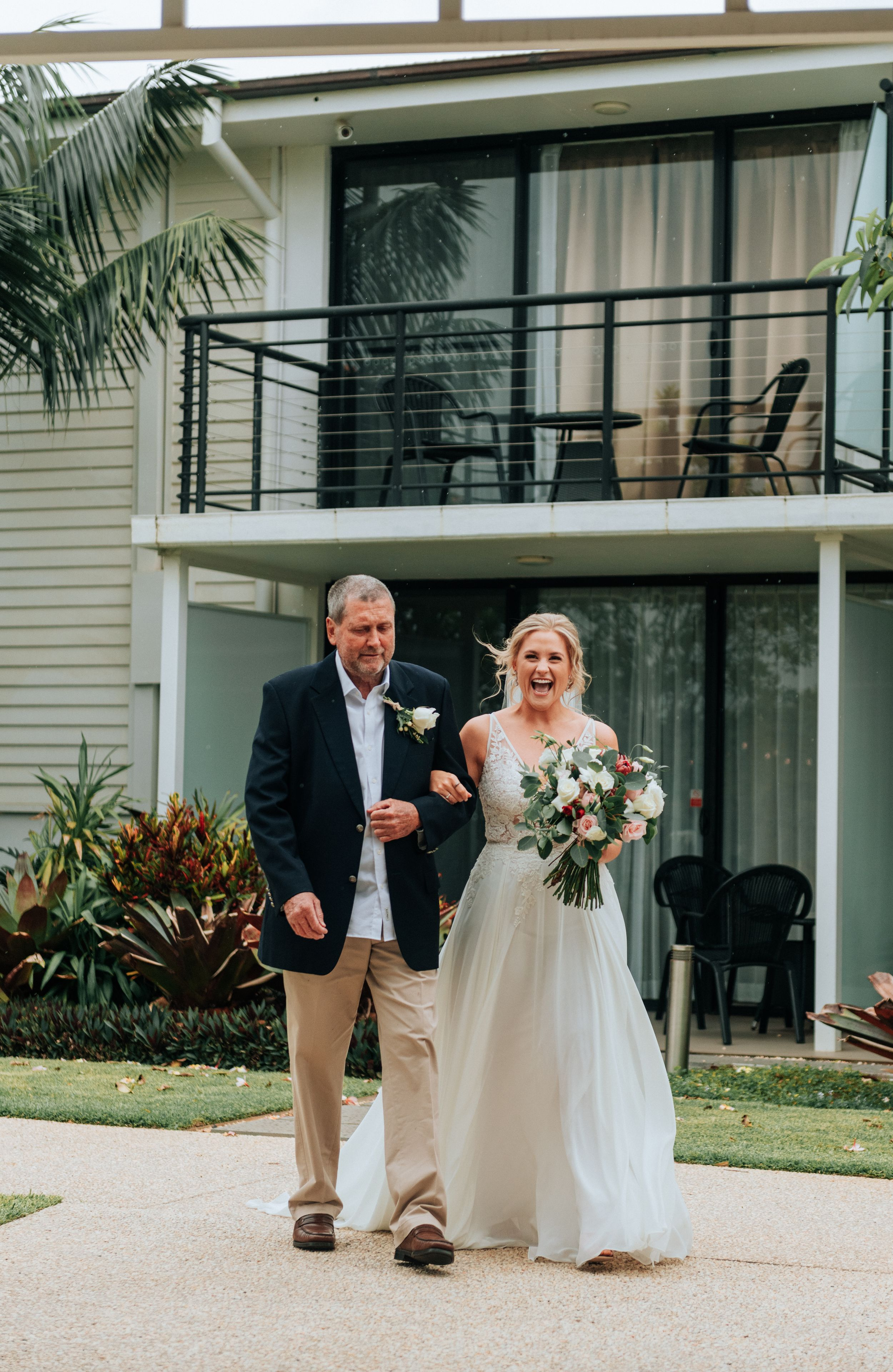 Sails Port Macquarie wedding