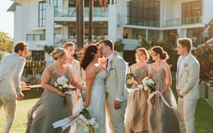 Port Macquarie Sails Wedding bridal party