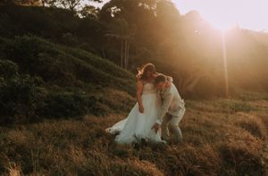 Port Macquarie Sails Wedding sunset photos