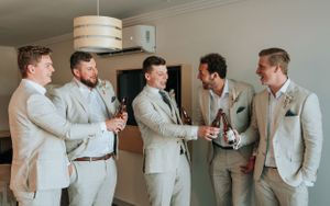 Port Macquarie Sails Wedding groomsman toast