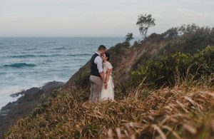 Flynns Beach Wedding