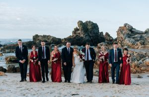 Forster Beach Wedding Photography