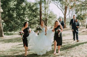 Cassegrain Wines Wedding Port Macquarie bridal party