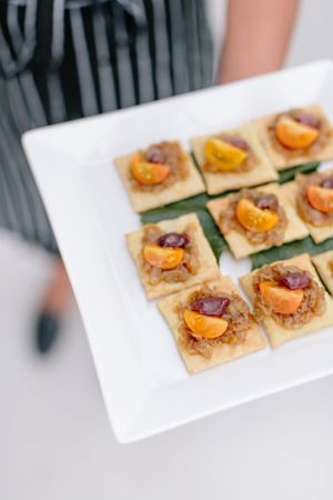 wedding reception appetizers