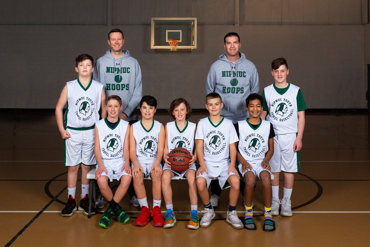 Nipmuc Travel Basketball Team Photo Boys