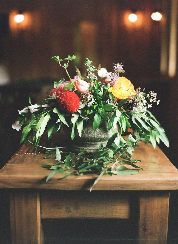 Oklahoma wedding photographer Aaron Snow Photography Springs Events flowers
