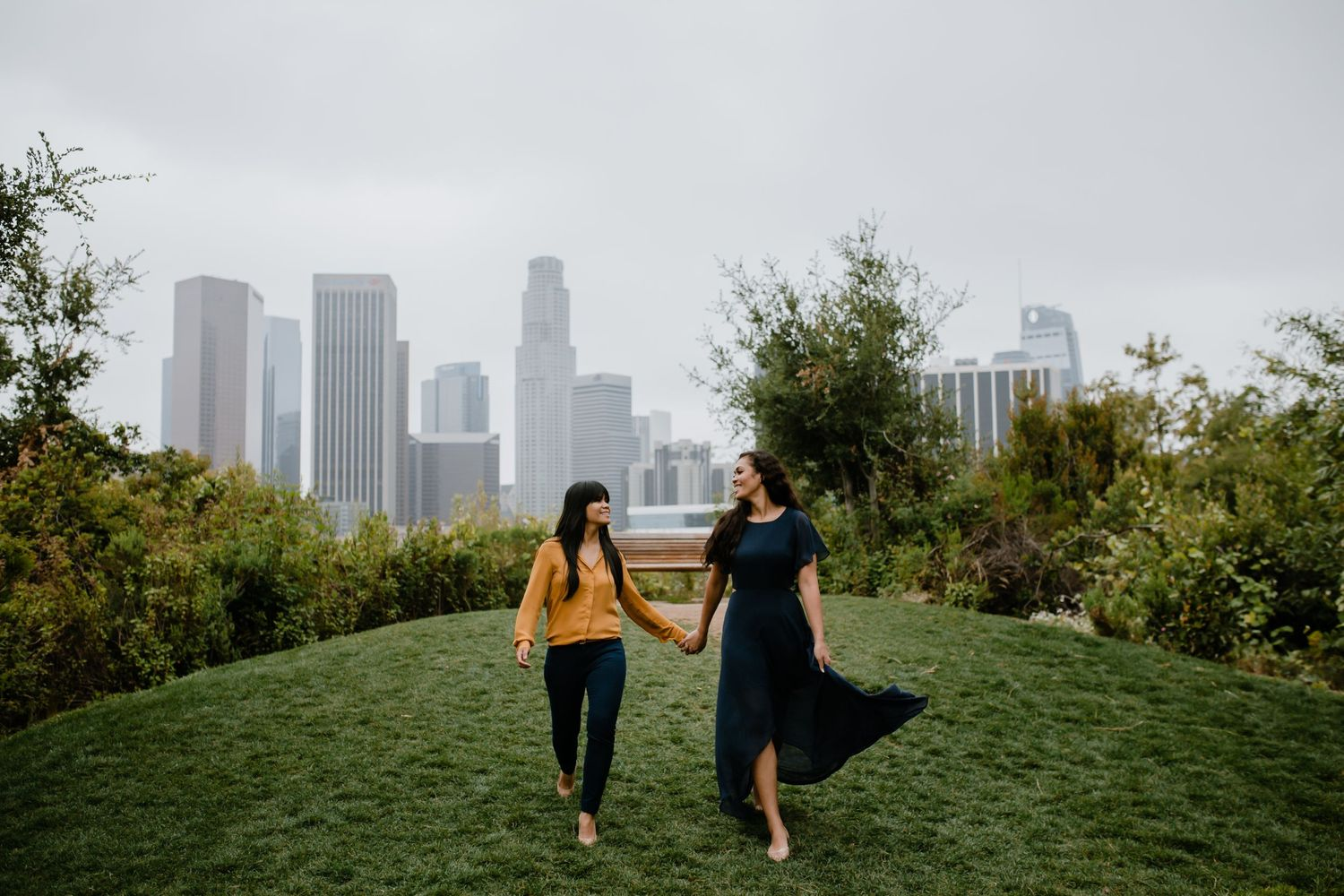 Edith Hogan Photography Vista Hermosa DTLA Engagement