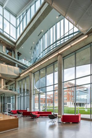 Architectural photographer Health Sciences University of Cincinnati