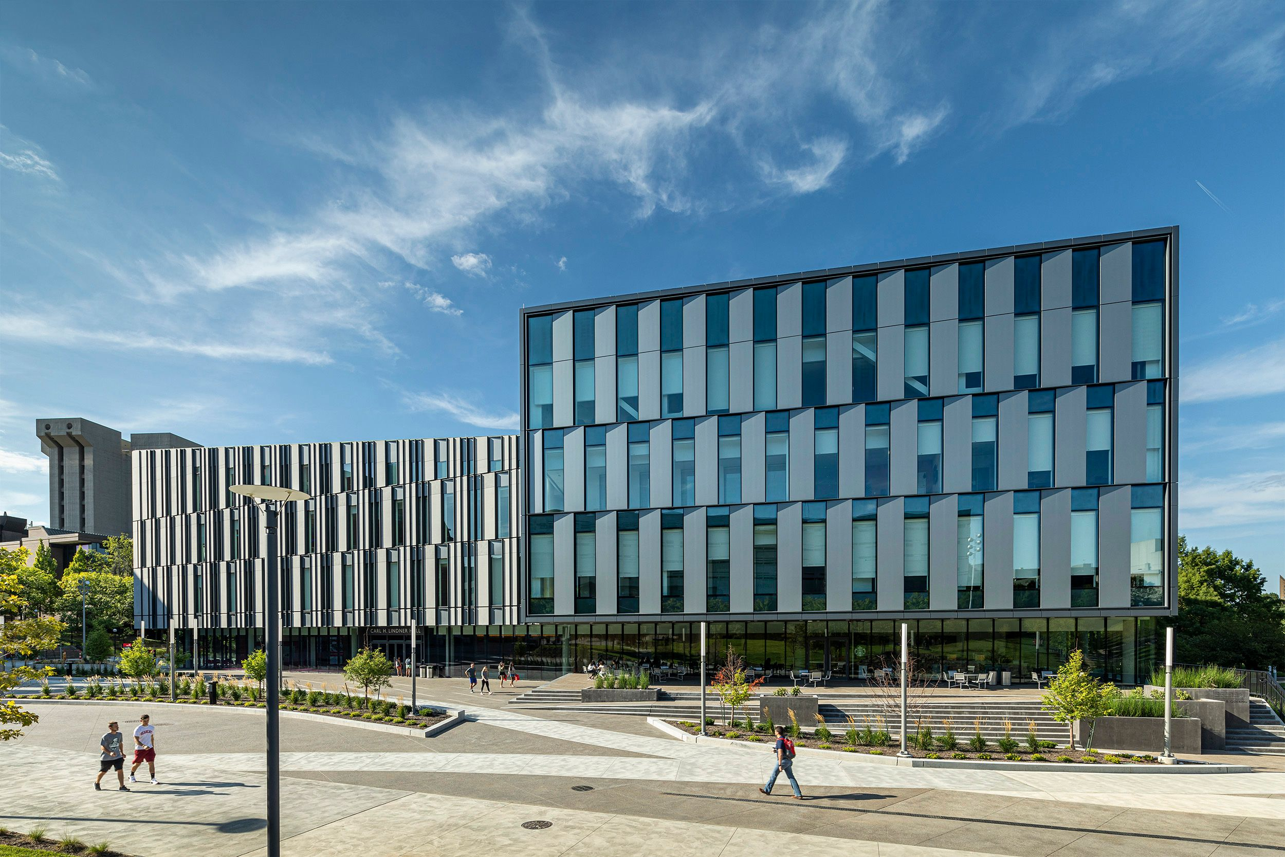 Architectural photographer Lindner Business College University of Cincinnati