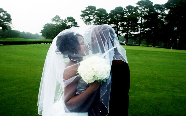 Wedding at golf course country club by Columbia, SC, Wedding Photographer Jeff Blake